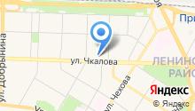 Средняя школа № 9 им. Ивана Ткаченко, МУП на карте