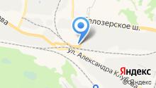 Амарант на карте