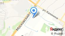 Понидром на карте