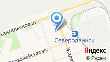 Автокомплекс на ПТП на карте