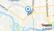 76 Квадратных метров на карте