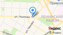Специализированная служба по вопросам похоронного дела, МУП на карте