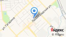 На Ленинградской на карте