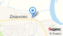 Дядьковская основная общеобразовательная школа на карте