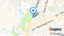Аксу на карте