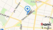 Kefir Hostel на карте