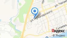 ФКП Росреестра, ФГБУ на карте