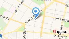 AБС на карте