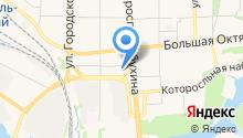 LoCar на карте