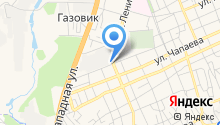 Адвокатский кабинет Шабановой Е.В. на карте