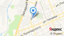 Продуктовый магазин на проспекте Ленина на карте