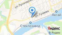 ХЛЕБОКОМБИНАТ АКСАЙСКОГО РАЙПО на карте