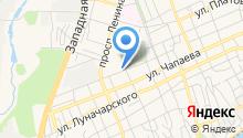 Газпром газораспределение Ростов-на-Дону на карте