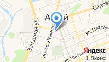 Центральная районная больница Аксайского района на карте