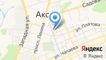 Управление пенсионного фонда России в Аксайском районе на карте