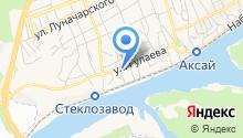 Почтовая станция на карте