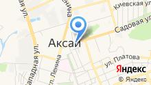 Аксайский хлеб на карте