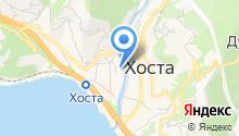 Hosta River на карте