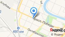 На Колесах на карте