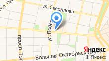 ЯТС-реклама на карте