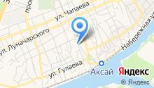 Архив документов по личному составу Аксайского района, МБУ на карте