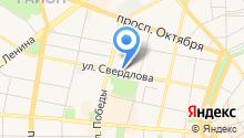 M & M на карте