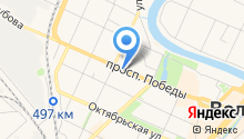 Адвокатский кабинет Васильева А.Н. на карте