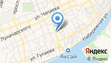Центр социального обслуживания граждан пожилого возраста и инвалидов Аксайского района на карте