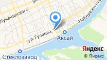 Ростов Автоклимат на карте