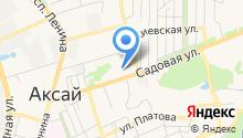 Алексеево на карте