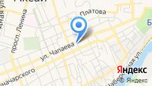 Вечернее на карте