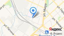 Бавария - сеть магазинов разливного пива на карте