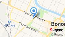 Автозапчасточная №1 на карте