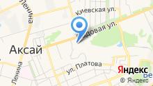Такси-18 на карте