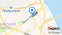 Архангельский опытный водорослевый комбинат на карте
