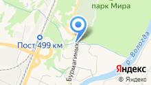 Banya Sauna на Бурмагиных на карте