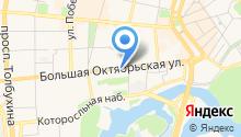 Love radio Ярославль,FM 100,6 на карте