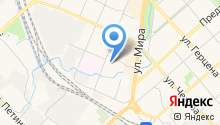 Агентство ипотечного жилищного кредитования Вологодской области на карте