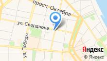 Quadro на карте