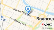 Вологодский государственный университет на карте