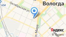 Адвокатский кабинет Козловой О.В. на карте