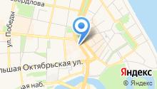 Ярославское предприятие по геодезии и землеустройству, МУП на карте