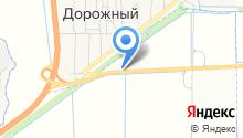 АЗС на ул. Ольгинская-Волгодонск автодорога 1 км на карте