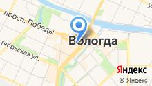 Александровская вода на карте