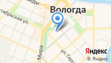 Арбитражный суд Вологодской области на карте