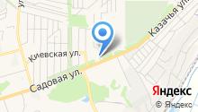 АГЗС на Садовой на карте