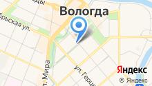 Администрация Вологодского муниципального района на карте