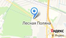 Администрация городского поселения Лесная Поляна на карте