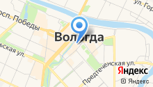 Администрация г. Вологды на карте