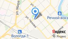 Tele2 Вологда на карте